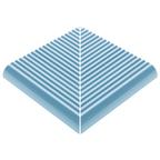 Pahlı Merdiven Kaymazı Dış Köşe Havuz Mavi
