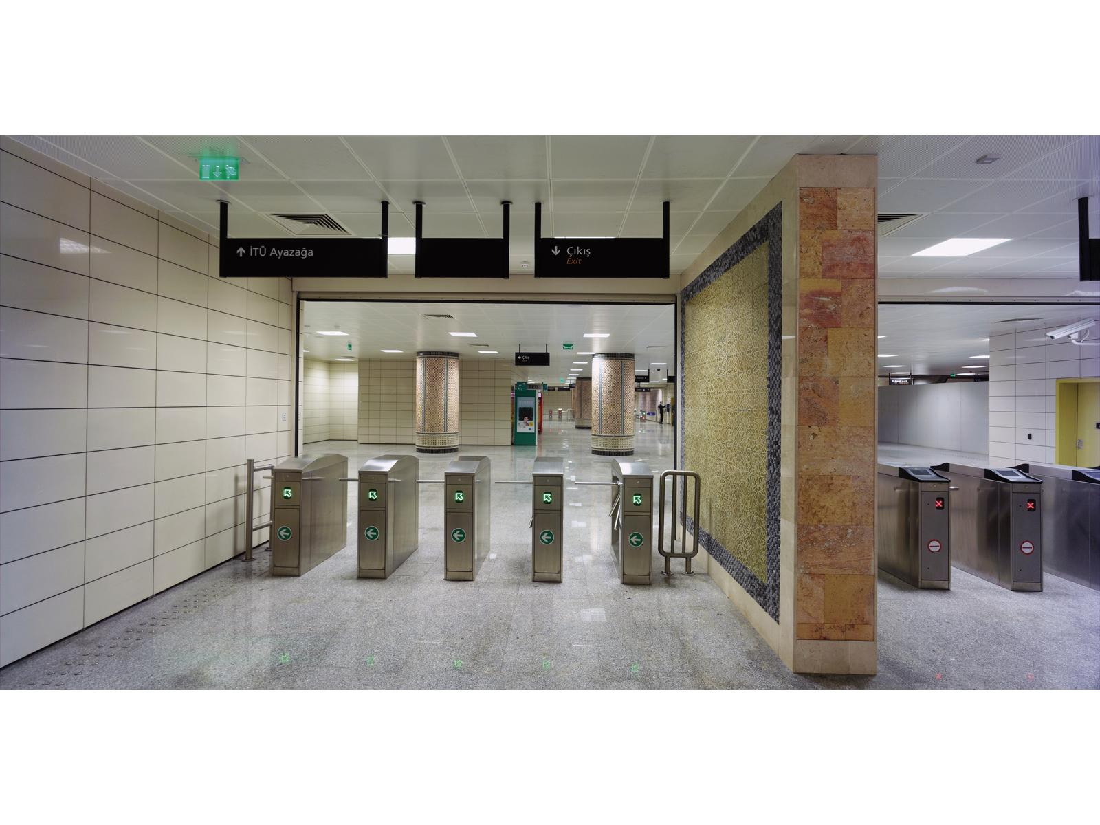 Ayazağa Metro İstasyonu