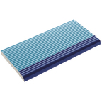 Pahlı Merdiven Kaymazı Havuz Mavi Kenarı Kobalt