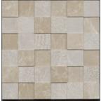 4,8x4,8 Burdur Bej Antik Mozaik