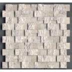 1,5x3 Silver Patlatma Düz Mozaik