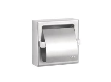 Public Ankastre Paslanmaz Tuvalet Kağıtlığı [Kapaklı]