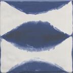8105 Santorını Mavi Ebru Mini