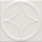 8110 Santorını Beyaz Dairesel