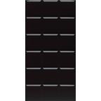 RP-8281 Milennium Kare 10X10 Parlak  Siyah