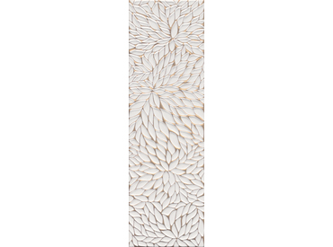 Dek-6050R Shiro Flower Beyaz-Altın Mat Rektifiyeli