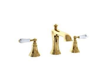 3 Delikli Lavabo Bataryası (Altın)