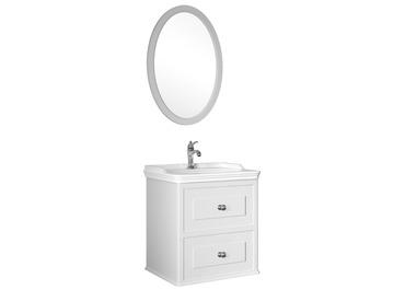 Miro 65 Cm Set (Lavabo Dolabı+Ayna) Mat Beyaz