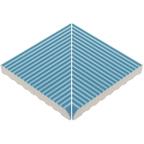 Beveled Anti-Slip Ladder Internal Corner Pool Blue