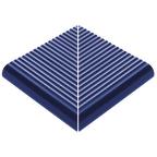 Beveled Anti-Slip Ladder External Corner Cobalt