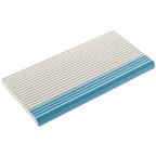Beveled Anti-Slip Ladder Pool Blue