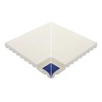 Beveled Anti-Slip Ladder Internal Corner Cobalt Edge
