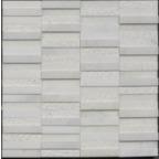 1,5x7,5 Kemalpaşa Beyaz Antik Mozaik