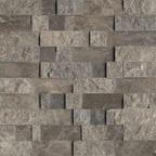 1,5x7,5 Dark Emperador Patlatma Düz Mozaik
